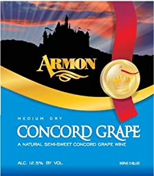 NV Armon Medium Dry Concord New York 750 mL Red Wine