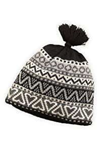 Tabask Pablo Alpaca Hat (Black/Cream)