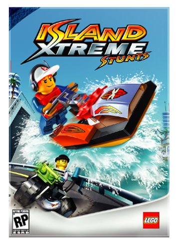Lego Island Xtreme Stunts - Pc back-671083