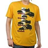 PUMA プーマ プリントTシャツ 半袖 2010MODEL《メンズ:レモンクローム》スパイク 555091-03