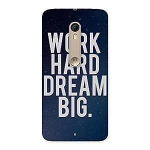 Stylish Hard Dream Back Case Cover for Motorola Moto X Style