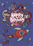 Freya Harrison Happy Birthday - Space (Cardoo)