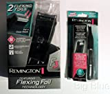 Remington F3790NEXLP Men's Dual Flex Foil Shaver and Trimmer