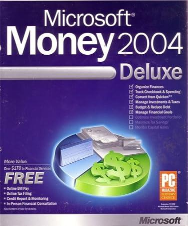Microsoft Money 2004 Deluxe
