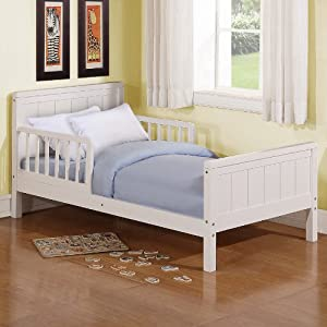Amazon Dorel Asia Toddler Bed White Discontinued