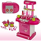 MDFashionkart  Kitchen Set Kids Luxury Battery Operated Kitchen Super Set Toy