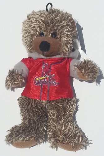 "MLB Plush 9"" Speclkled Bear ~ Saint Louis Cardinals"