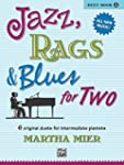 Jazz, Rags & Blues for Two, Book 2: I...