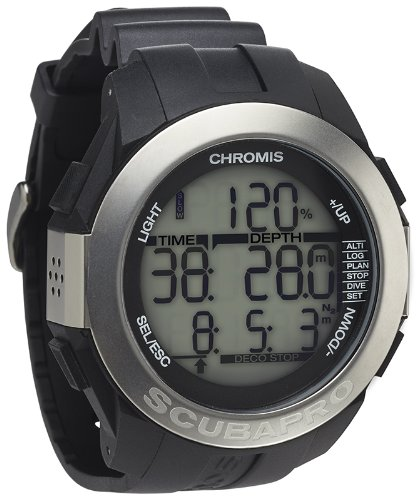Scubapro Chromis Scuba Diving Computer Watch - Black