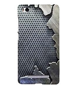 Fuson Premium Back Case Cover Vintage Pattern With black Background Degined For Xiaomi Redmi Mi4i::Xiaomi Mi 4i