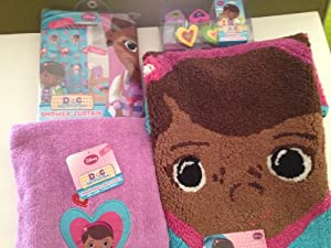 Doc McStuffins Full Bathroom Set