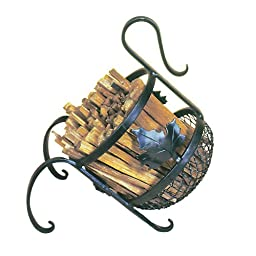 NEW - European Fatwood Fireplace Kindling Caddy-FWC-03