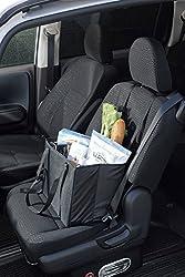 <座席がバッグに> カーシートクッションバッグ 座れる!たくさん入れられる!