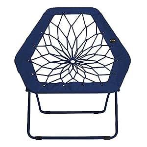 Bunjo hex bungee chair blue electronics for Bunjo chair