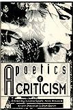 A poetics of criticism