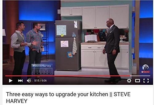 Large Appliance Stainless Steel Film Peel It! Stick It! Love It! 36