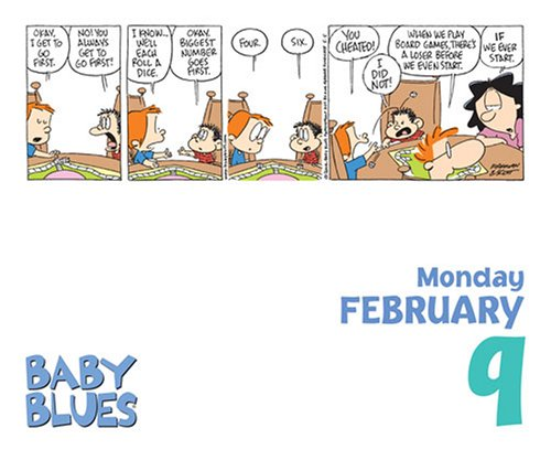 Baby Blues Day to Day Calendar 2009