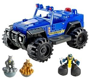 Matchbox Big Boots Police K9 ATV Vehicle