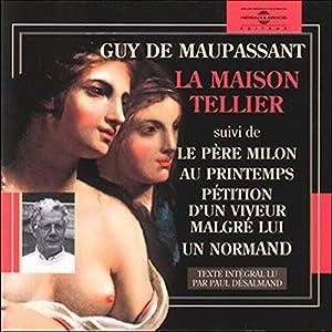 La Maison Tellier Hörbuch