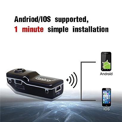 Mini Portable Wifi Ip Camera Web Cam DVR Wireless Camcorder