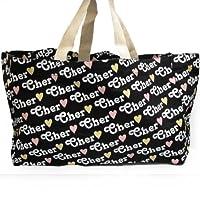 Cher シェル トートバッグ サブバッグ ロゴ バッグ 並行輸入品 AMI174