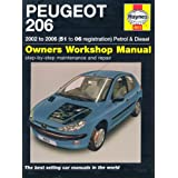 Peugeot 206 Petrol and Diesel Service and Repair Manual: 2002 to 2006 (Haynes Service and Repair Manuals)by Peter T. Gill