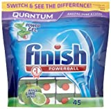 Finish Quantum Apple and Lime Blast (Pack of 1, Total 45 Tablets )