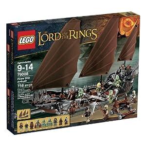 (历史最低)乐高 LEGO LOTR 79008 Pirate Ship Ambush 魔戒系列 指环王海盗船$80.33