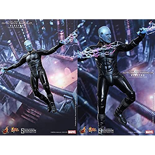 Hot Toys Maverl Collectibles The Amazing Spider-Man 2 Electro Jamie Foxx 1/6 Scale Figure-