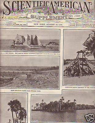 1908 Scientific American Supp Aug 22-Libya Desert Rail
