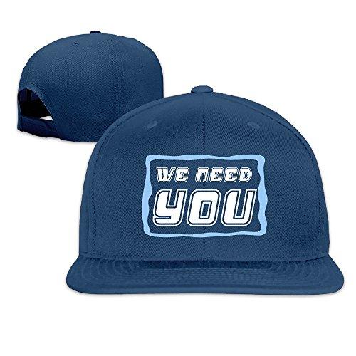 MaNeg We Need You Unisex Fashion Cool Adjustable Snapback Baseball Cap Hat (Costume Stores Cleveland)