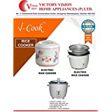 V COOK ELECTRIC RICE COOKER 1.8 LITRES.