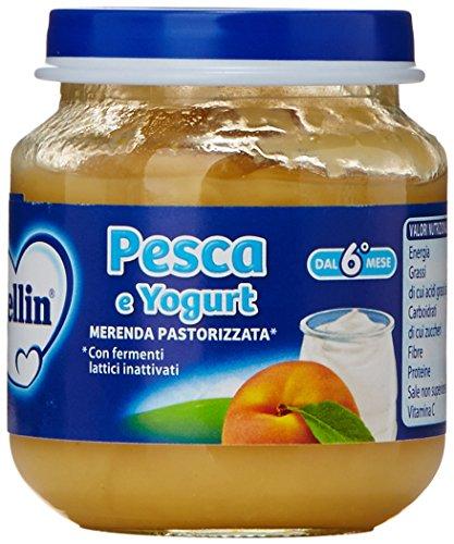 Mellin Yogurt Pesca Gr.120X2