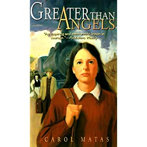 Amazon.com: Greater Than Angels (9780689830846): Carol Matas, John ...