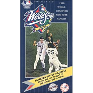 1998 Official World Series Video - New York Yankees vs. San Diego Padres movie