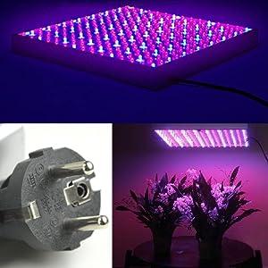 15w led pflanzenlicht rot blau 11 4 pflanzenleuchte pflanzen lampe mit 255 led wachstumslampe. Black Bedroom Furniture Sets. Home Design Ideas