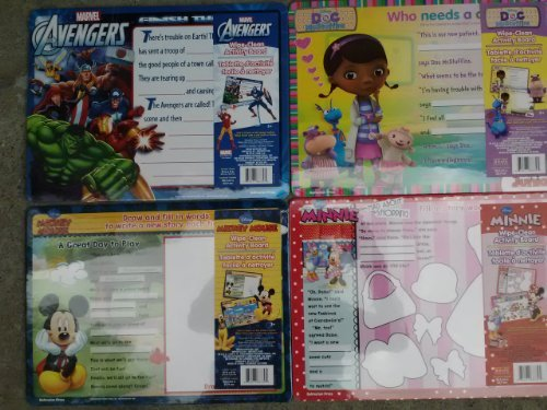 Disney Junior Wipe Clean Activity Board (Assorted, Designs Vary)