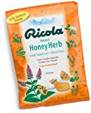 Ricola Herb Throat Drops, Honey-Herb, 24 Drops (Pack of 12)