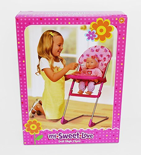 My Sweet Love Doll High Chair - Birds - 1