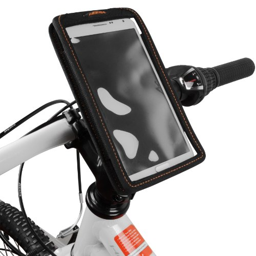 New Ibera Bike Large Smartphone Case & StemClamp Mount, for 5-6.3 Inch Phone Screens