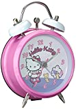 Hello Kitty Petite Metal Twinbell Bedside Alarm Clock