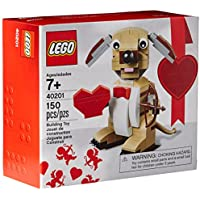 LEGO Bricks & More Valentines Cupid Dog Building Kit
