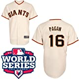 Angel Pagan San Francisco Giants Youth Replica Home Jersey w/ 2012 World Series Select Youth Size: Small - 6/8 Amazon.com