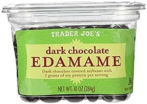 Trader Joes Dark Chocolate Covered Soybeans Edamame 10 Oz