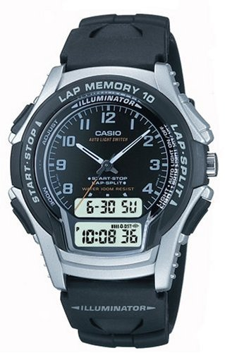 Casio Casual Combination Sports Watch WS300B-1V