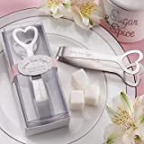 Game Some Sugar! Stainless-Steel Heart-Themed Sugar Tongs