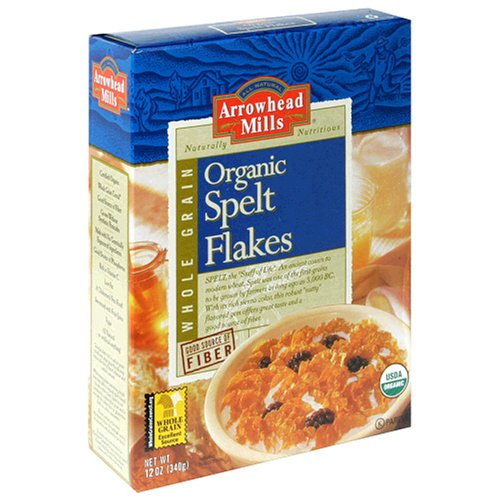 Buy Arrowhead Mills Spelt Flakes,  12-Ounce Unit (Pack of 6) (Arrowhead Mills, Health & Personal Care, Products, Food & Snacks, Breakfast Foods, Cereals)