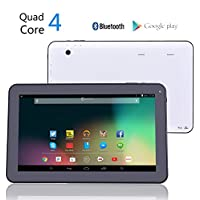New PolaTab (Great British Brand) Q10.1 Octa Core GPU Cheapest 10 inch Quad Core CPU 1GB RAM and 8GB Storage (Expandable to 40GB) TWIN CAMERA Android Tablet PC Kitkat 4.4.2 (4 x 1.3 Ghz) Capacitive Touchscreen 1024 x 600 Bluetooth Google Play - UK Brand, UK Service, UK Support