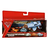 Disney Pixar Cars 2 - Character Stars 3 Pack with Professor Z
