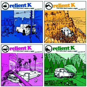 Original album cover of Two Lefts Don't Make a Right.. But Three Do by Relient K